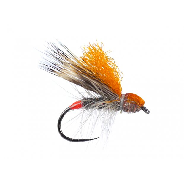 Orange High Viz Deer Hair Sedge BL